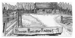 Hidden Hollow Farm 1 Beach Towel