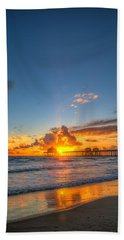 Hiding Sunset Beach Towel