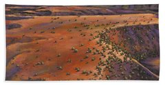 High Desert Evening Beach Towel