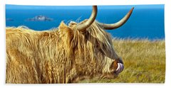 Highland Beauty Beach Towel