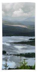 Highland Loch At Lochaber Beach Towel