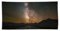 Highway To Heaven Beach Towel