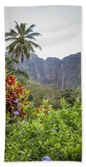 Hiilawe And Hakalaoa Falls Beach Sheet