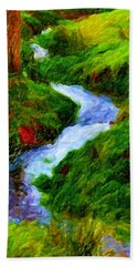 Hill And Rill Beach Towel