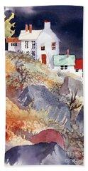 Hill House Beach Towel by Teresa Ascone