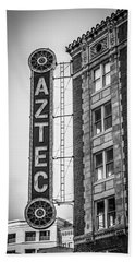 Historic Aztec Theater Beach Towel