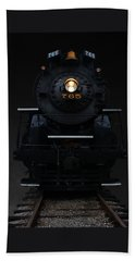 Historical 765 Steam Engine Beach Towel