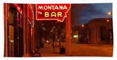 Historical Montana Bar Beach Sheet