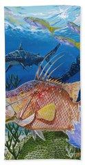 Hog Fish Spear Beach Towel