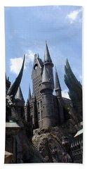 Hogwarts Castle Beach Sheet