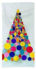 Holiday Tree #1 Beach Sheet