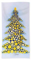 Holiday Tree #2 Beach Towel