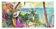 Holidays In Saint Martin Beach Towel