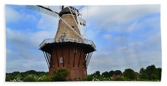 Holland Michigan Windmill Beach Towel