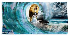 Holy Roar Beach Towel