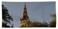 Beach Towel featuring the photograph Holy Tower   by Shawn Marlow