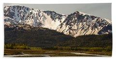 Homer Alaska Shore Beach Towel