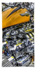 Honda Valkyrie 3 Beach Towel by Steve Purnell