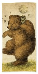 Honey Bear Beach Towel