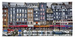 Honfleur Beach Towel