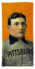 Honus Wagner Baseball Card 0838 Beach Sheet