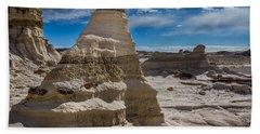 Hoodoo Rock Formations Beach Towel