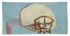 Hoop Dreams - Art By Bill Tomsa Beach Towel