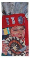 Hopi Basket Dancer Beach Towel