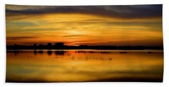Horizons Beach Towel by Bonfire Photography