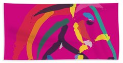 Horse - Colour Me Strong Beach Towel