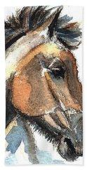 Horse-jeremy Beach Towel