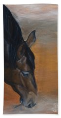 horse - Lily Beach Towel