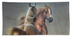 Horseplay Beach Towel