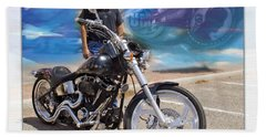 Horses Of Iron10 Beach Towel