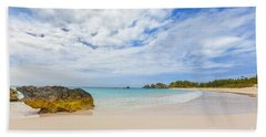 Horseshoe Bay Beach Towel by Verena Matthew