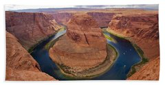 Horseshoe Bend View 1 Beach Towel