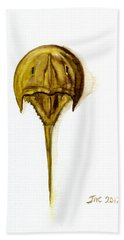Horseshoe Crab 1 Beach Towel