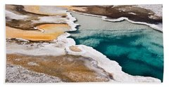 Hot Spring  Beach Towel