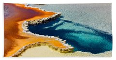 Hot Spring Perspective Beach Towel