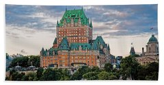 Fairmont Le Chateau Frontenac  Beach Towel