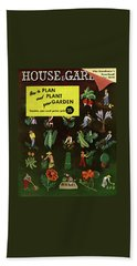 House And Garden How To Plan And Plant Beach Towel
