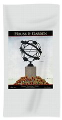 House And Garden Summer Furnishings Number Beach Towel