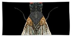 House Fly Bedazzled Beach Towel
