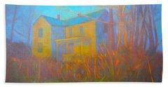 House In Blacksburg Beach Towel by Kendall Kessler