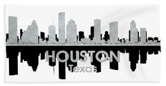 Houston Tx 4 Beach Towel