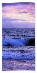 How Much I Love You Beach Sheet