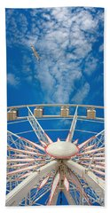 Huge Ferris Wheel Beach Towel