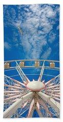 Huge Ferris Wheel Beach Sheet