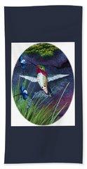 Hummingbird Two Beach Sheet