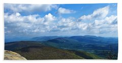 Humpback Rocks View North Beach Towel